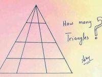 Bu fotoğrafta kaç tane üçgen var?