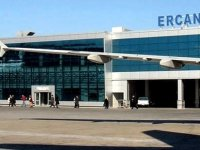 Ercan Havalimanı'nda kasti hasar