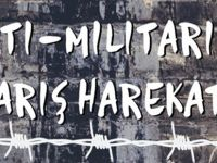 """""""Anti-Militarist Barış Harekâtı"""" düzenleniyor"""