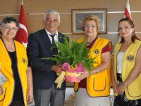 Güzelyurt Yeşilada Lions Kulübü Özçınar'ı ziyaret etti