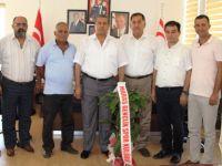 Maraş Klübü Arter'e teşekür ziyaretinde bulundu