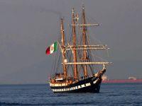 Tarihi İtalyan donanma yelkenlisi 1 Eylül'e kadar Larnaka'ya demirleyecek
