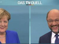 """Merkel ve Schulz TV'de tartıştı: """"Başbakan olursam müzakareleri keserim"""""""