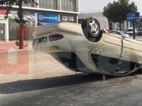 Güncellendi: 22 yaşındaki sürücü, hafif sıyrıklarla kurtuldu!