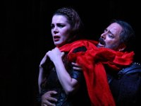 "Shakespeare'in ünlü ""Macbeth"" oyunu sahneledi"