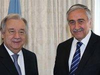 Akıncı, yarın BM Genel Sekreteri Guterres ile görüşecek