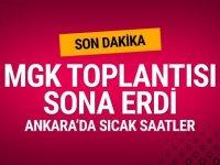Türkiye'de Kritik MGK toplantısı sona erdi
