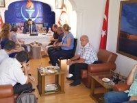YDP'nin Kosova'dan ziyaretçileri vardı