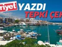 Kıbrıs'ı yazdı;  çok tepki çekti