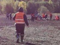 Dünya Ralli Şampiyornası'nda helikopter düştü: 1 ölü, 2 yaralı