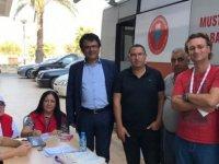 CTP Mağusa ilçesi gönüllüleri kan bağışında bulundu