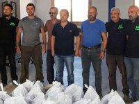 Yenierenköy Belediyesi çalışanlarına gıda yardımı