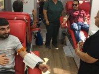 DAÜ'de kan bağışı etkinliği gerçekleştirildi