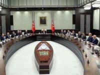 MGK'dan OHAL ve Kuzey Irak tavsiyesi