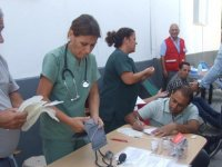 Futbol camiasından 32 ünite kan bağışı