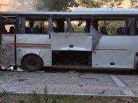 Mersin'de polis servis aracına bombalı saldırı; yaralılar var
