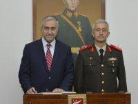 Cumhurbaşkanı Akıncı'dan komutanlara iade-i ziyaret