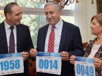 Akıncı çifti, 'Lefkoşa Koşuyor Maratonu'na katılıyor