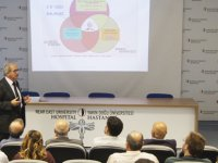 YDÜ'nün 100 Türk Bilim İnsanı Konferans Dizisinin ikinci konuğu Prof. Dr. Arif Hepbaşlı oldu