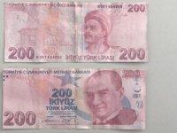 Polisten sahte 200 TL'lik banknot uyarısı