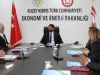 Müteahhitler Birliği, Ekonomi ve Enerji Bakanı Atun'u ziyaret etti