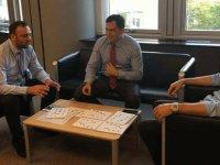 Cumhuriyet Meclisi Heyeti, Brüksel'de temaslarda bulundu