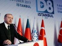 Erdoğan'dan ABD'ye 'Öcalan posteri' tepkisi