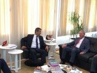 Ertuğruloğlu, AP ECR Siyasi Grubu Başkan Yardımcılarını kabul etti