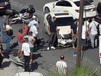 Mağusa'da feci kaza: Ambulans olay yerinde
