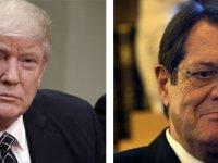 Trump, Anastasiadis'i Beyaz Saray'a davet etmiyor