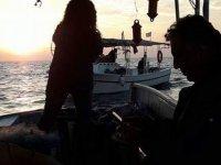 Çavuşoğlu, balıkçılarla denize açıldı