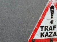 Ciklos mevkiinde kaza: 2 kişi hafif yaralandı