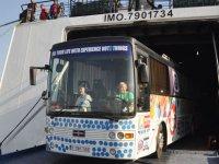 """""""Kuzey Kıbrıs'ı Keşfet"""" otobüsü KKTC'de"""
