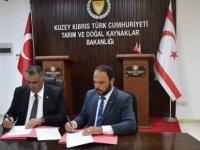Tarım ve Doğal Kaynaklar Bakanlığı ile İskele Belediyesi arasında işbirliği protokolü