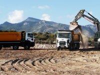 """'Girne Dağ Yolu'nda çalışmalar başladı: """"Korkulan değil, güvenli bir yol olacak"""""""