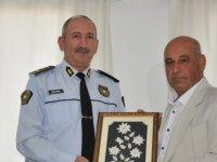 Benli'den Lefkoşa Polis Müdürlüğü'ne teşekkür ziyareti
