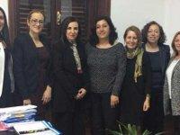 Toplumsal Cinsiyet Eşitliği Platformu Dizdarlı'yı ziyaret etti