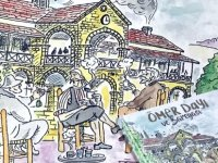 """Khora Yayınları'ndan Karikatür Kitabı: """"Ömer Dayı ve Bareyası"""""""