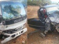 Feci kaza: 4 kişi yaralandı!