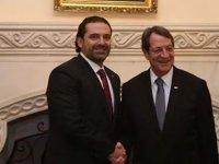 İstifa eden Başbakan'dan Anastasiadis'e 45 dakikalık ziyaret
