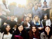 YDÜ'den turist rehberi adaylarına seminer