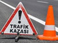 Lefkoşa'da kaza: 1 ağır yaralı