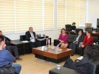 Arter, Ayluga Sulak Alanını Koruma Komitesi ile bir görüşme yaptı
