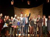 Güney Mesarya Halk Tiyatrosu Türkiye turnesini tamamladı