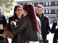 TDP adayları Lefkoşa'daki bazı okulları ziyaretlerini sürdürdü