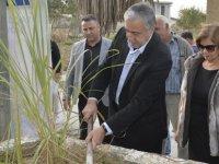 Akıncı, Sazlıköy'de fidan dikme etkinliğine katıldı