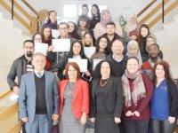 DAÜ Yabancı Diller Eğitimi Bölümü başarılı öğrencilerine sertifikalarını verdi