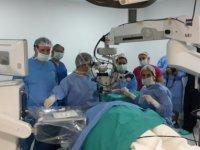 Devlet Hastanesi'nde göz ameliyatları
