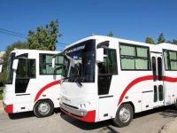 Gönyeli'de toplu taşımacılığa iki yeni araç