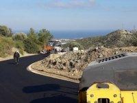 Karmi'de asfalt çalışması gerçekleştiriliyor